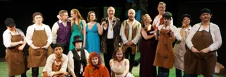 The cast of A Midsummer Night's Dream