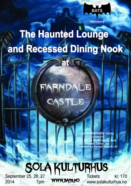The Haunted Through Lounge and Recessed Dining Nook at Farndale Castle