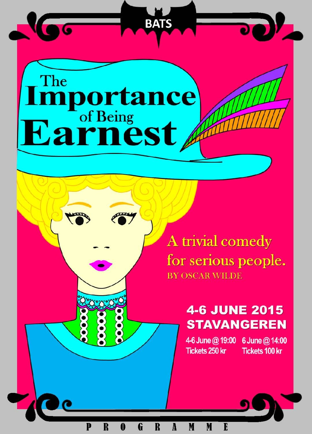 The importance of being earnest bats theatre for Farcical comedy in the importance of being earnest