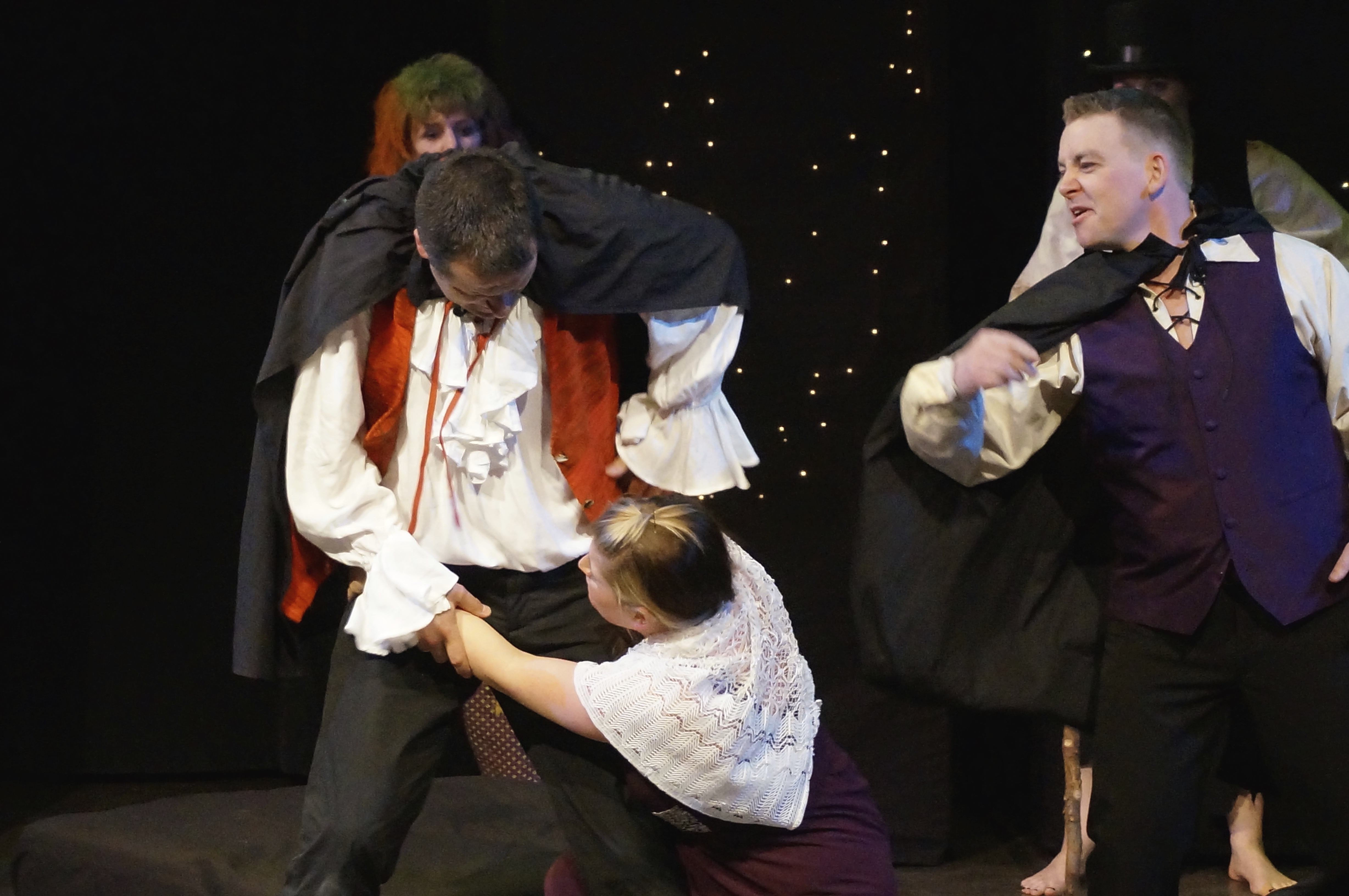 Lysander can't shake free of Hermia